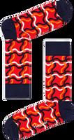 Rode HAPPY SOCKS Sokken SQUIGGLY SOCK  - medium