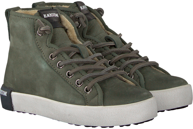 Groene BLACKSTONE Sneakers QK76 - large