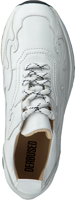 Witte DEABUSED Sneakers 7569S  - large