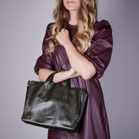 Groene MYOMY Schoudertas MY PAPER BAG HANDBAG CROSSBODY - medium