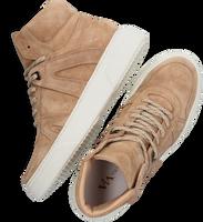 Beige VIA VAI Hoge sneaker JUNO  - medium