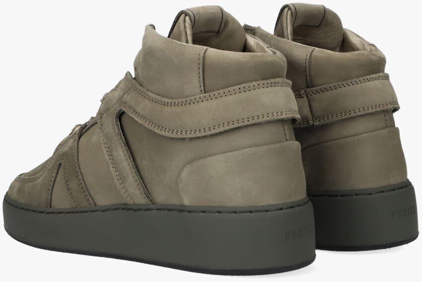 Bruine NUBIKK Hoge sneaker JIRO DUNK  - larger