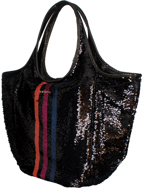Zwarte UZURII Schoudertas SHOULDERBAG - large