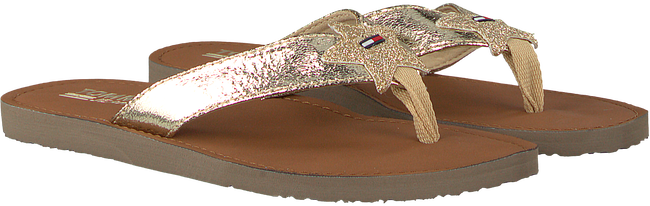 Gouden TOMMY HILFIGER Slippers GLITTER BEACH SANDAL - large