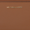 Cognac MICHAEL KORS Portemonnee LG FLAT MF PHN CASE  - small