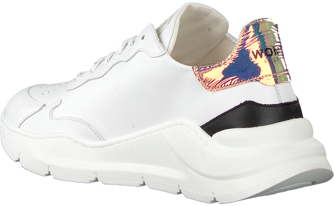 Witte WOMSH Lage sneakers WAVE WHITE SHINY  - large