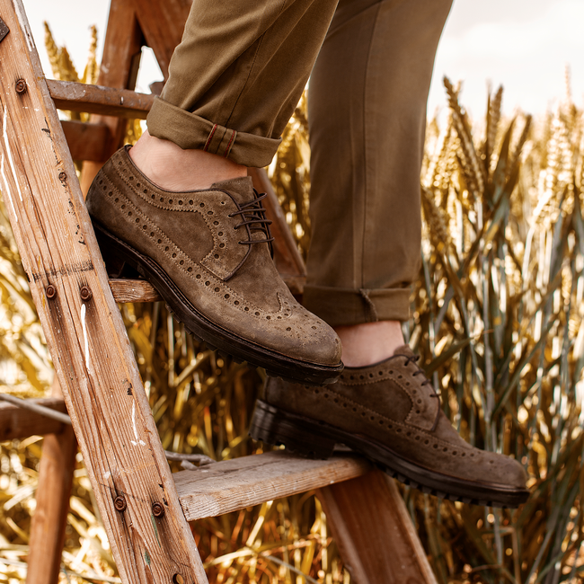 Bruine MAZZELTOV Nette schoenen 9065  - large