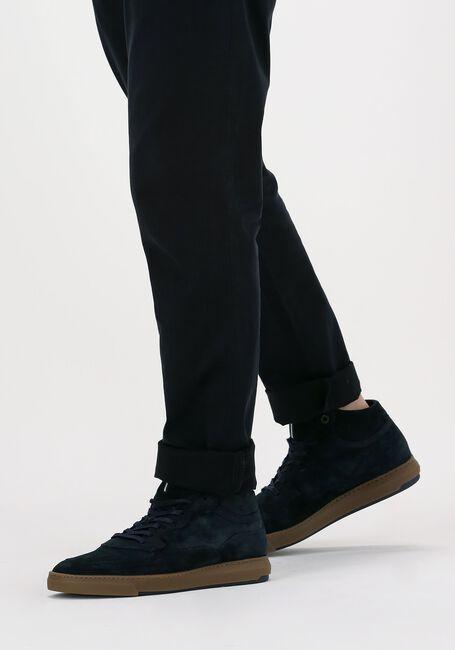 Blauwe FLORIS VAN BOMMEL Hoge sneaker 20325  - large