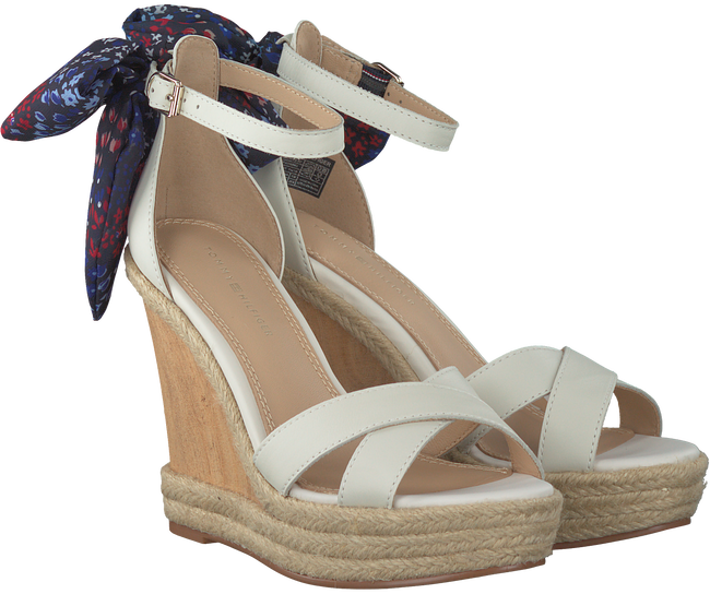 Witte TOMMY HILFIGER Espadrilles BEATRICE 9C  - large