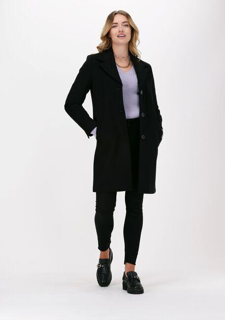 Zwarte SELECTED FEMME Mantel NEW SASJA WOOL COAT B - large