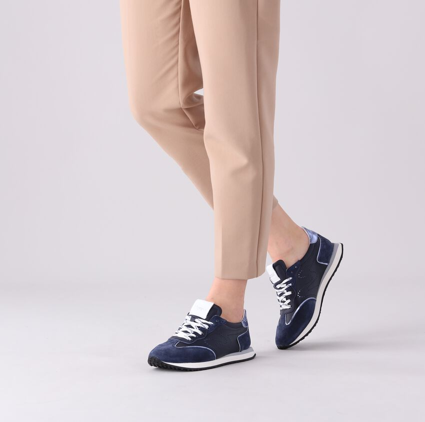 Blauwe MARIPE Lage sneakers FIRST  - larger