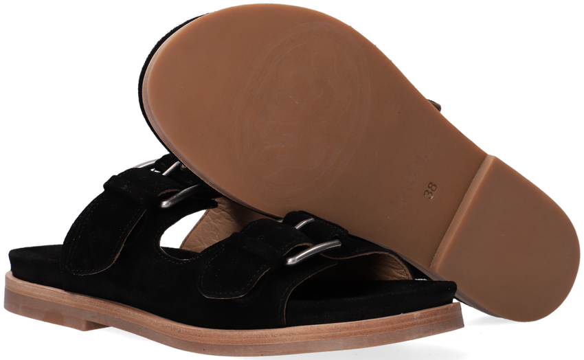 Zwarte SHABBIES Slippers 170020193  - larger