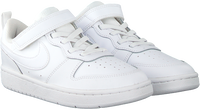Witte NIKE Lage sneakers COURT BOROUGH LOW 2 (PS)  - medium