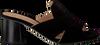 Zwarte UNISA Muiltjes MANOLI  - small