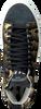 Zwarte P448 Hoge sneaker STAR WOMAN  - small