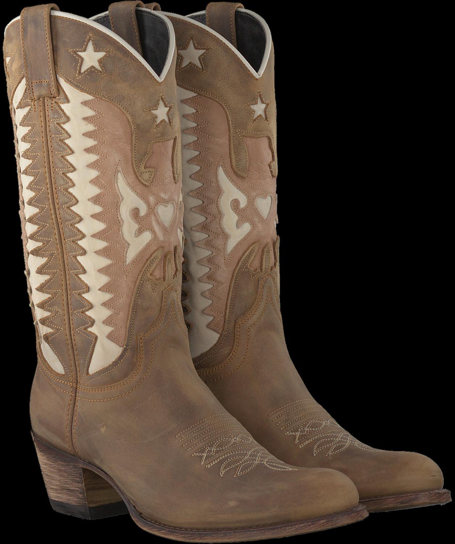 Bruine SENDRA Cowboylaarzen 11627   Omoda