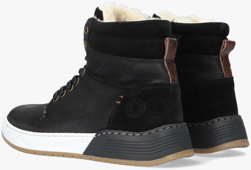 Zwarte BULLBOXER Hoge sneaker AOF503  - larger