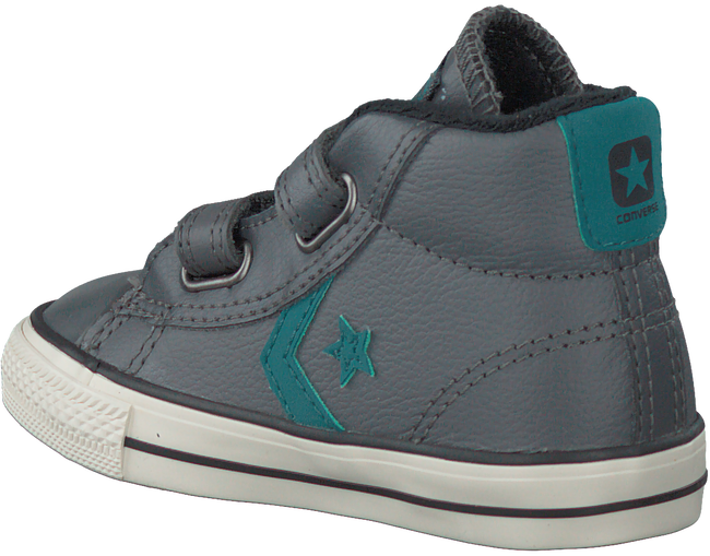Grijze CONVERSE Sneakers STAR PLAYER MID 2V  - large