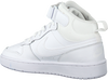 Witte NIKE Hoge sneaker COURT BOROUGH MID 2 (GS)  - small