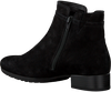 Zwarte GABOR Enkellaarsjes 718  - small