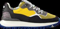 Gele FLORIS VAN BOMMEL Lage sneakers 16301  - medium