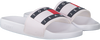 Witte TOMMY HILFIGER Slippers FLAG POOL  - small