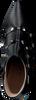 Zwarte LODI Enkellaarsjes ROTAN-TP  - small