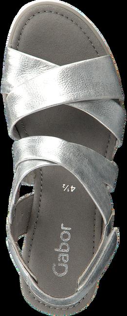 Zilveren GABOR Espadrilles 759.1 - large