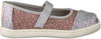 Zilveren TOMS Ballerina's MARY JANE  - medium