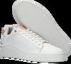 Witte FRED DE LA BRETONIERE Lage sneakers 101010216 - small