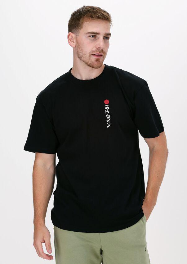 Zwarte EDWIN T-shirt KAMIFUIJ TSLAC  - larger
