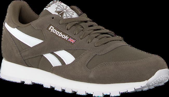Groene REEBOK Sneakers CL LEATHER MU - large