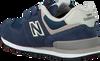 Blauwe NEW BALANCE Sneakers YV574/IV574 - small