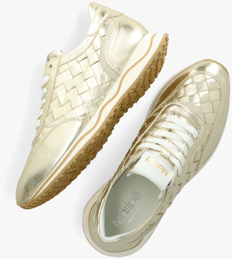 Gouden MARIPE Lage sneakers CANDICE  - larger