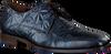 Blauwe FLORIS VAN BOMMEL Nette schoenen 14237  - small