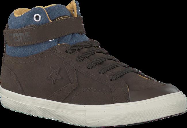 Bruine CONVERSE Sneakers PRO BLAZE STRAP HI KIDS  - large