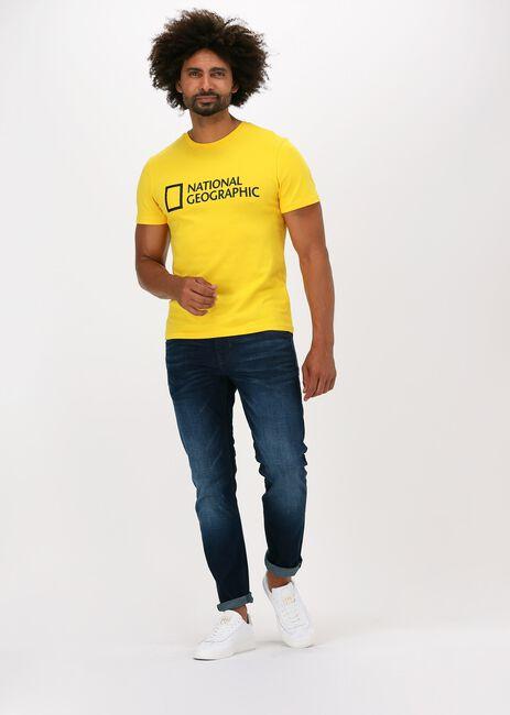 Donkerblauwe PME LEGEND Slim fit jeans TAILWHEEL DARK SHADOW WASH - large