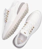 Witte RED-RAG Lage sneakers 76008  - medium