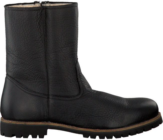 Zwarte BLACKSTONE Lange laarzen OM21  - large