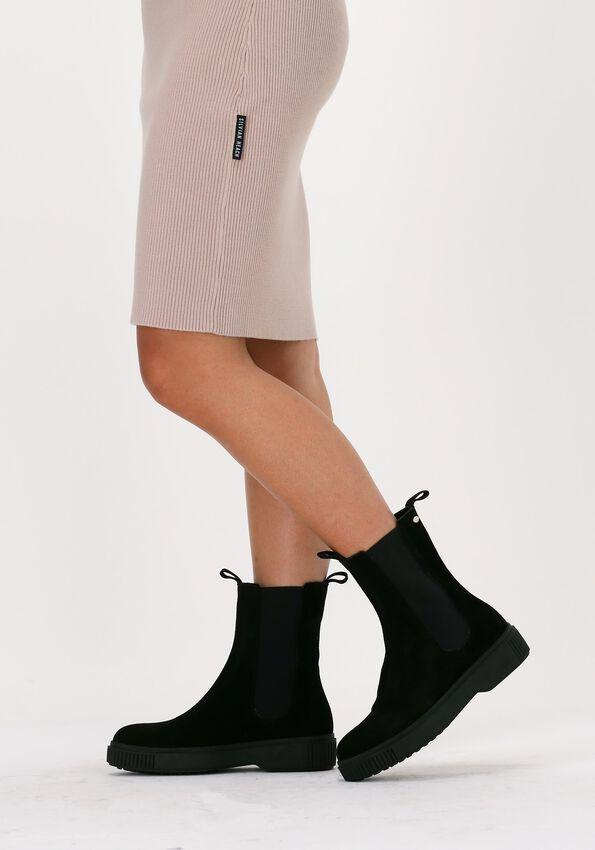 Zwarte FRED DE LA BRETONIERE Chelsea boots 181010105  - larger