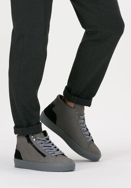 Grijze CYCLEUR DE LUXE Hoge sneaker CAPO  - large