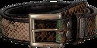 Zwarte SENDRA Riem 1075 - medium