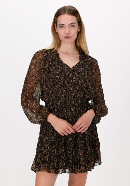 Zwarte IDANO Midi jurk FAUSTINE - large