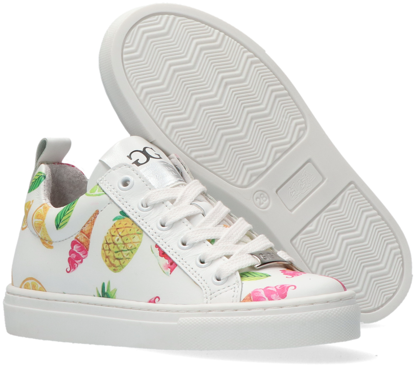 Witte GIGA Lage sneakers G3717  - larger