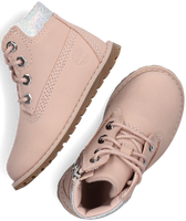 Roze TIMBERLAND Veterboots POCKEY PINE 6IN BOOT WITH SIDE  - medium