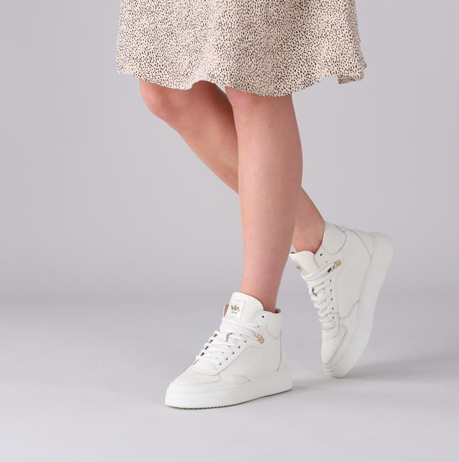 Witte VIA VAI Hoge sneaker JUNO LEE - large
