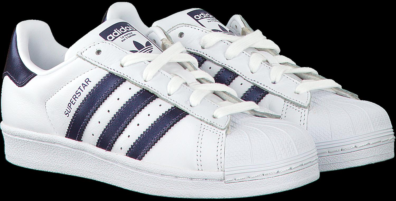 Witte ADIDAS Sneakers SUPERSTAR DAMES Omoda