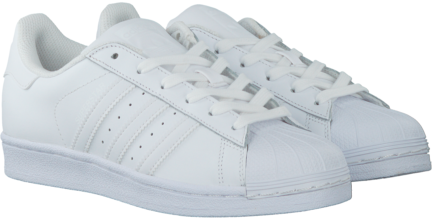 witte adidas sneakers superstar dames