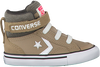Beige CONVERSE Sneakers PRO BLAZE STRAP HI KIDS  - small