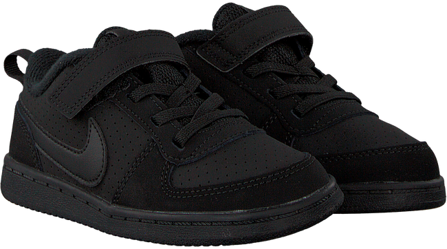 Zwarte NIKE Sneakers COURT BOROUGH LOW (KIDS) - large